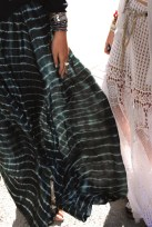 Striped and Lace Maxis
