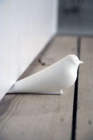 This cute dove shaped door-stopper is an awesome cheap gift or stocking stuffer. I've had mine for a while now. It works great at stopping doors.