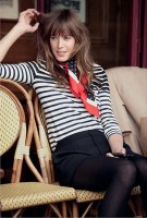 french style and bangs