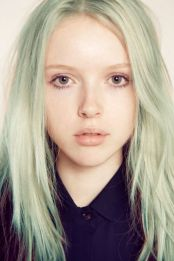 Mint hair, for those brave enough!