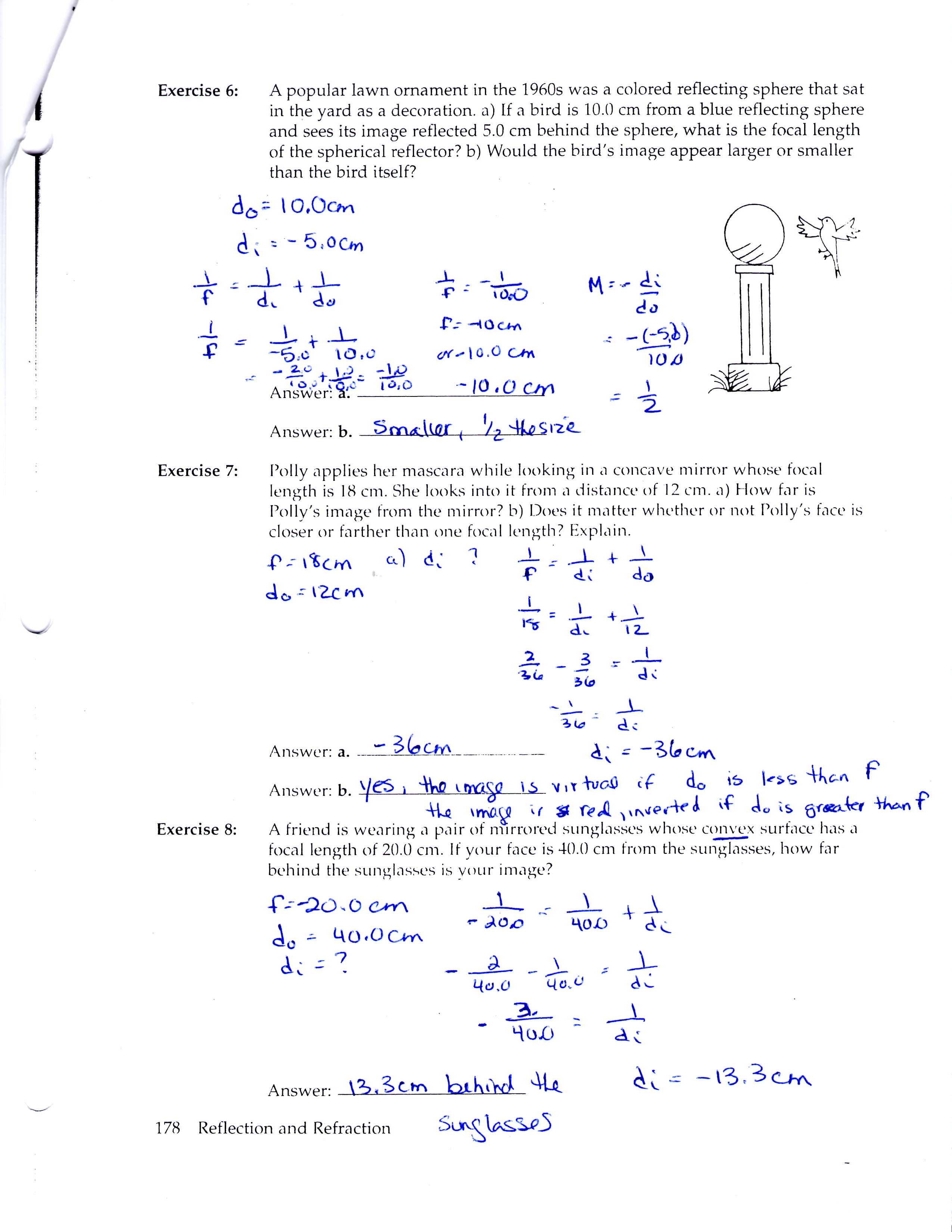 Waves Worksheet Answers Physics Classroom