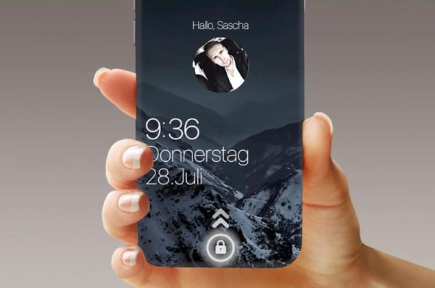 Apple запатентовала виртуальные кнопки на телефоне