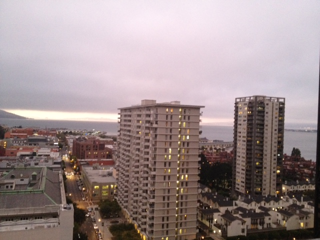 My view from the Le Meridien San Francisco