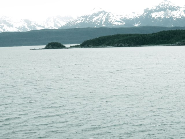 The strait of Juan de Fuca marks the end of motion sickness as we approached Victoria, British Columbia.