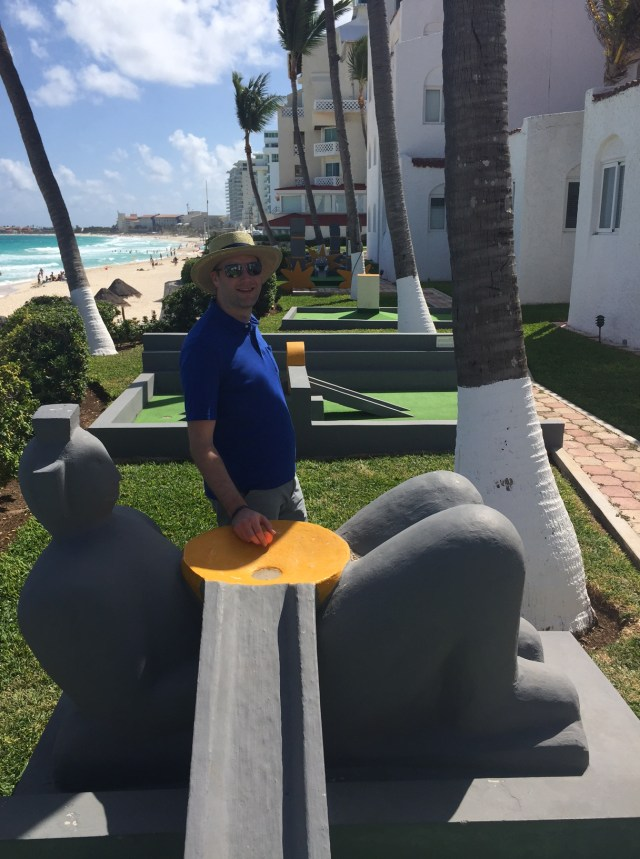 golf course at our all inclusive resort in Cancun