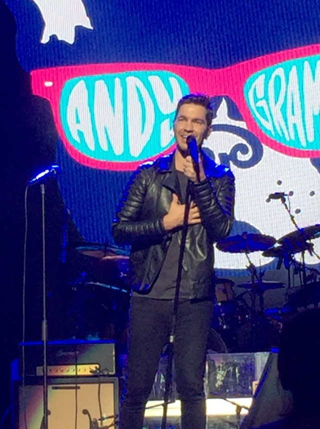 Andy Grammer performs at IBM InterConnect in Las Vegas