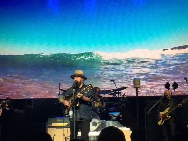 Zac Brown Band performs at IBM InterConnect in Las Vegas