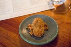 Silky Fried Jerusalem Artichoke Croquette