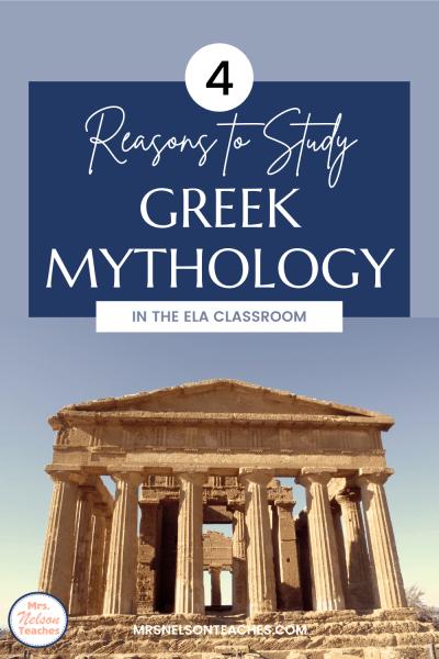 Why Study Greek Mythology?