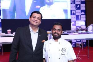 Left- General Manager Rajat Tuli, Right- Dinesh Patel