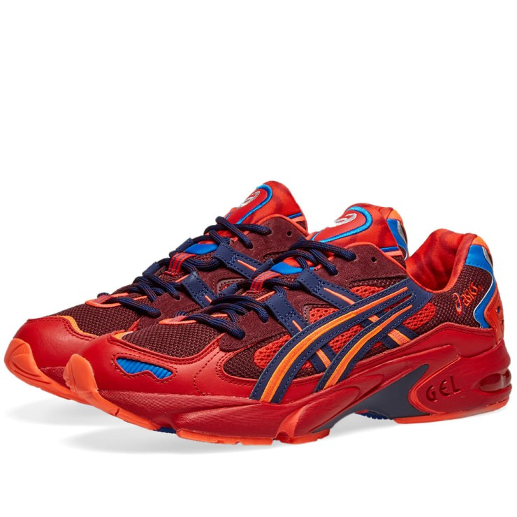 Asics x Vivienne Westwood Gel Kayano 5 OG in Red, Orange and Pink
