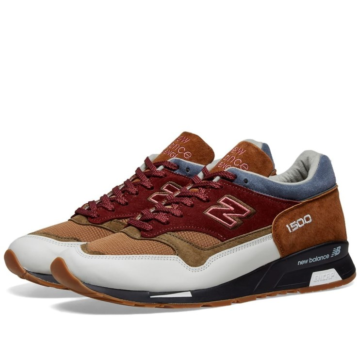 New Balance M1500 Made in England in Brown, Olive and Burgundy