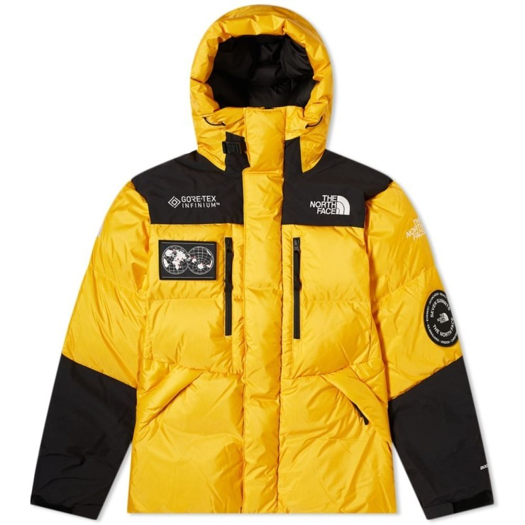 The North Face Seven Summits Series Gore-Tex Himalayan Parka in Yellow