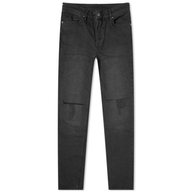 Ksubi Van Winkle Krow Krushed Jeans Black