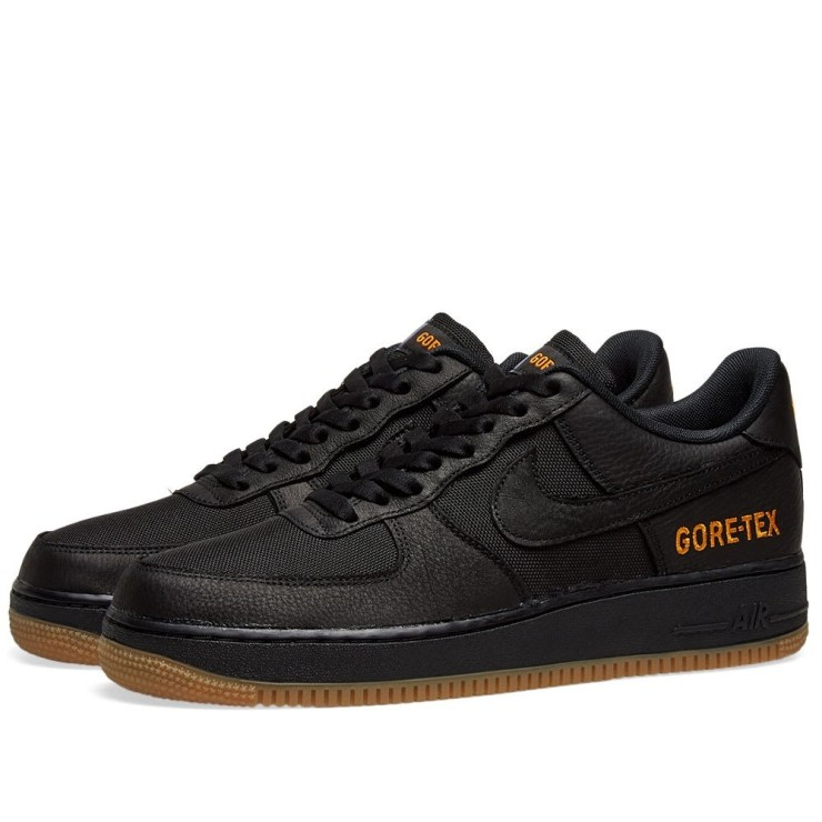 Nike Air Force 1 Gore-Tex Black, Brown and Orange