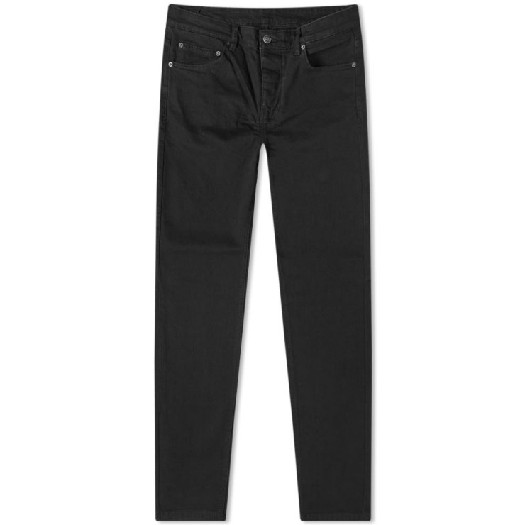 Ksubi Chitch Slim Tapered Jeans Black