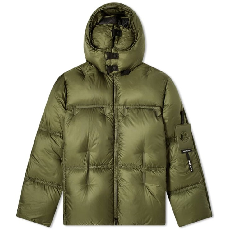 Moncler Genius x 5 Craig Green Coolidge Puffer Jacket 'Military Green & Black'