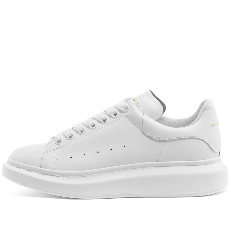Alexander McQueen Wedge Sole Sneakers 'White'