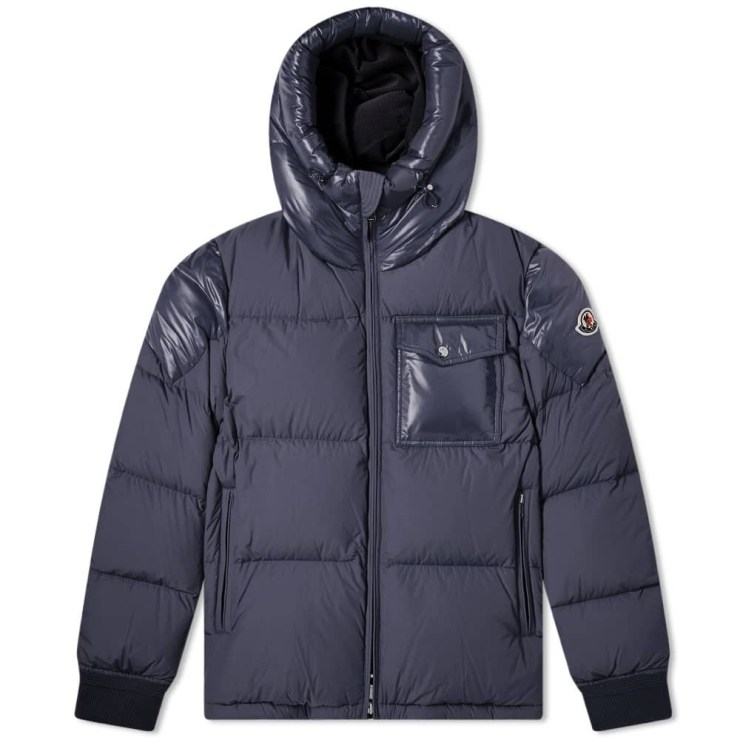 Moncler Eloy Hooded Down Jacket 'Navy Blue'