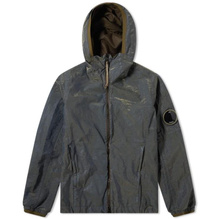C.P. Company P.RI.S.M Garment Dyed Zip Arm Lens Jacket 'Blue'