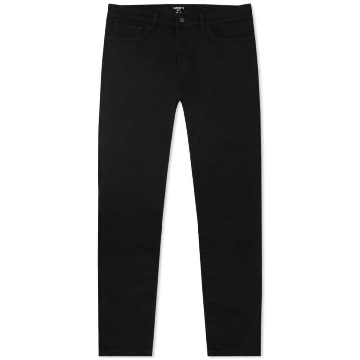 Carhartt WIP Coast Jeans 'Black Rinsed'