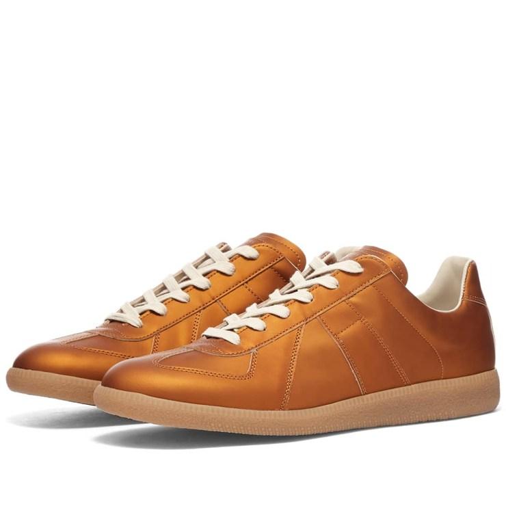 Maison Margiela 22 Metallic Replica Sneakers 'Bronze'