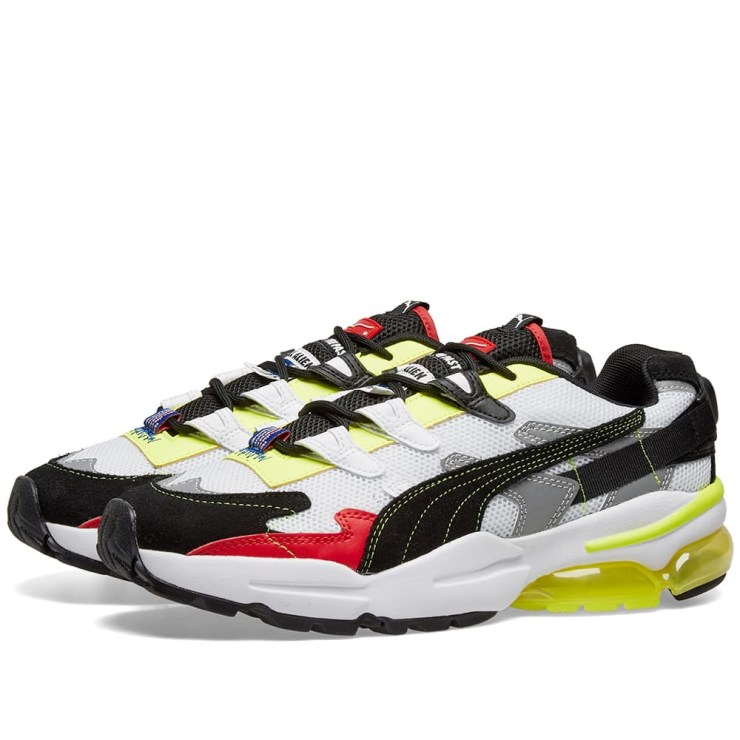 Puma x ADER-error Cell Alien Trainers 'White & Black'