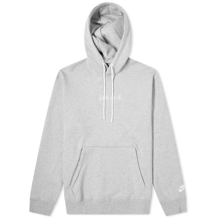 Nike Just Do It Heavyweight Hoodie 'Grey'