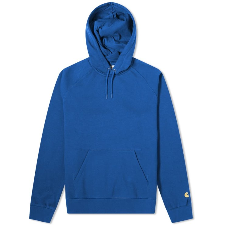 Carhartt Chase Sweat Hoody 'Submarine Blue'