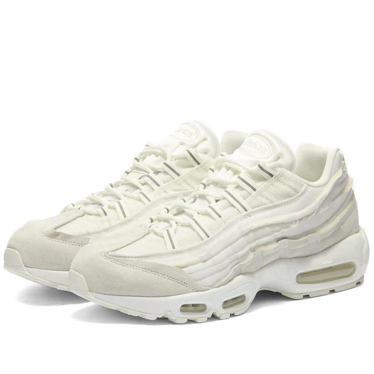 Comme des Garçons x Nike Air Max 95 'White'