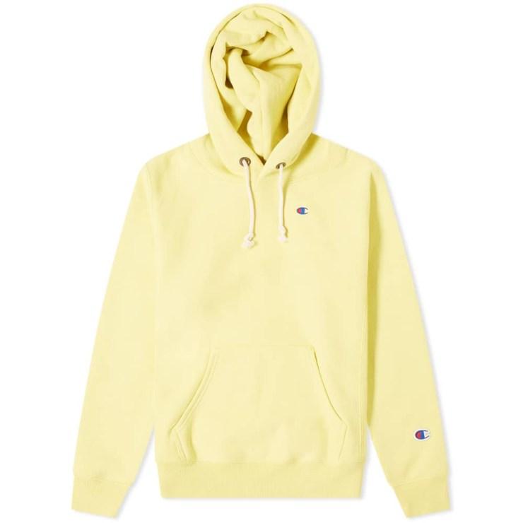 Champion Reverse Weave Classic Hoody 'Bright Yellow'