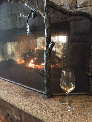 wine by the fire white