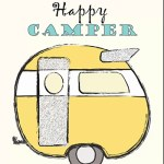 Mrs. Padilly's Yellow Happy Camper