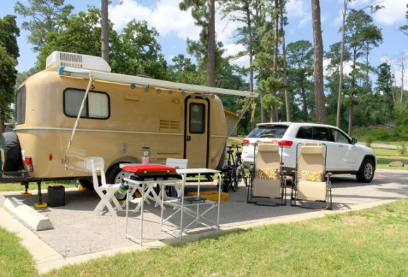 Mrs Padilly's Camper at Bastrop State Park