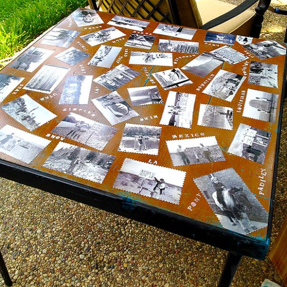 Heirloom Glamping Table