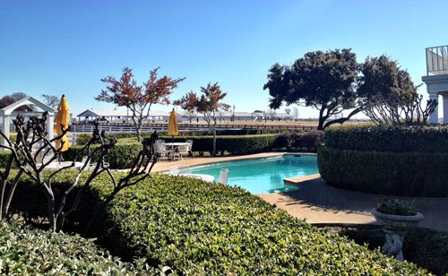 """Pool made famous in """"Dallas"""" - Southfork Ranch"""