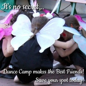 Dance Camp makes the Best Friends!