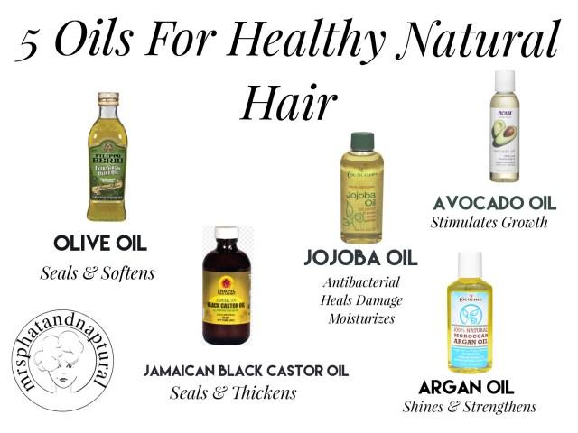 Struck Oil 5 Oils For Natural Hair