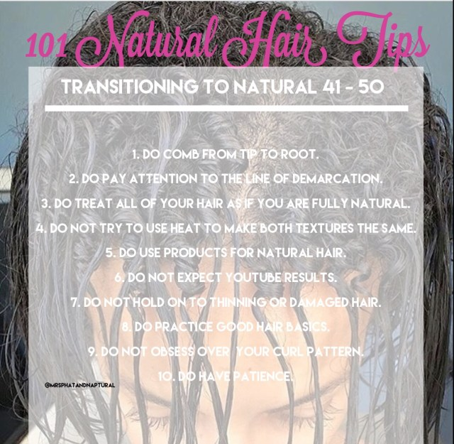 101 Natural Hair Tips: Transitioning To Natural