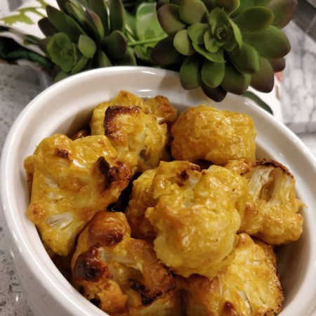 Roasted Cashew Cauliflower