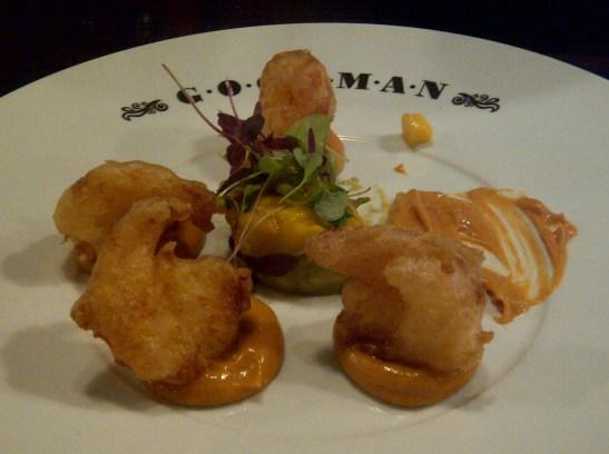 Image of tiger prawn tempura