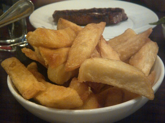 Image of a dish of truffled chips
