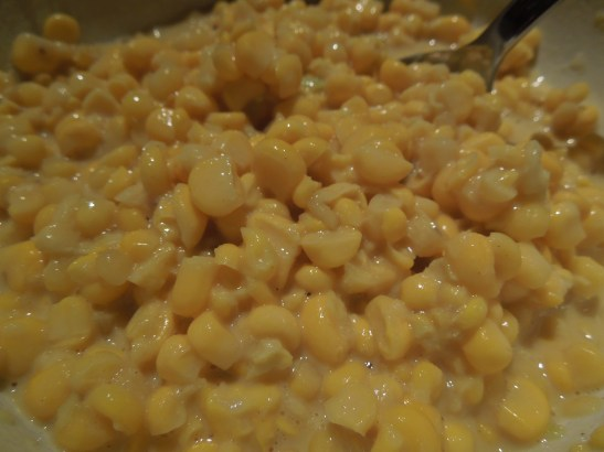 Image of sweetcorn fritter mixture