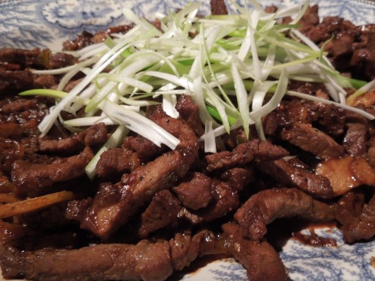 Image of a dish of bulgogi