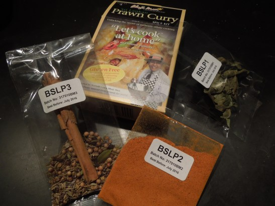 Image of a Bhaji Man curry kit