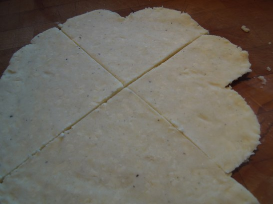 Image of farls cut into heart shapes