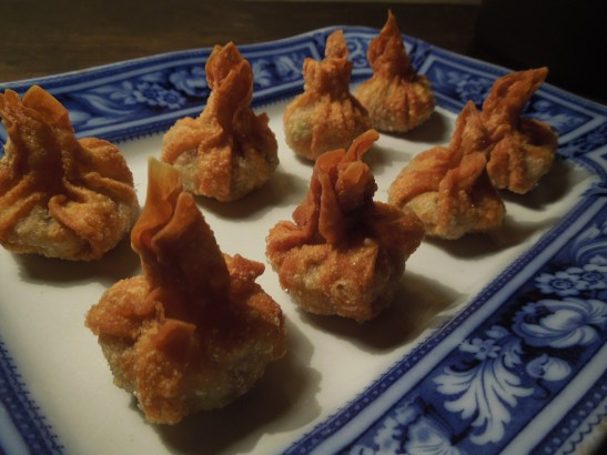 Image of crispy fried wontons