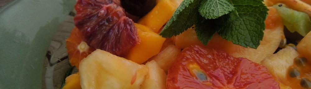 Image of exotic fruit salad