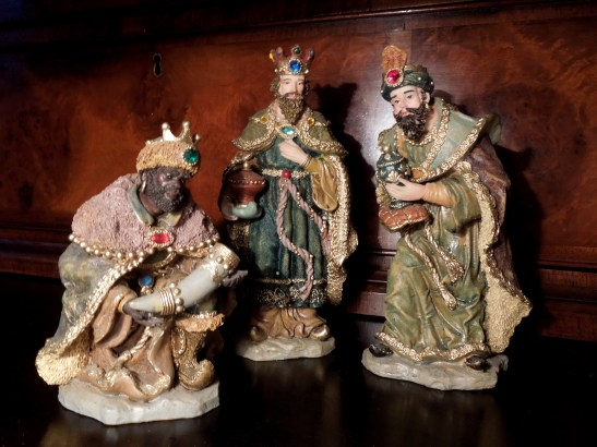 Image of Three Wise Men crib figures