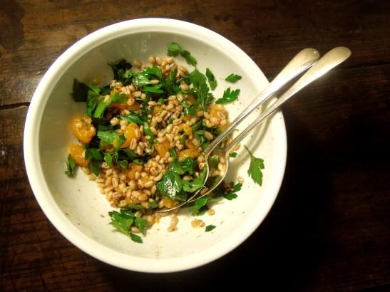 Image of pearl barley and citrus salad